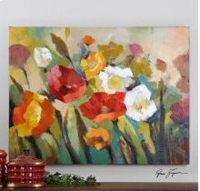 Spring Has Sprung Hand Painted Canva