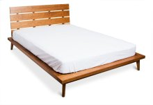 Queen 4 Slat Platform Bed