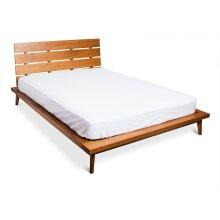 Queen 4 Slat Platform Bed