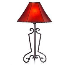 Forged Iron Table Lamp 010 (without shade)