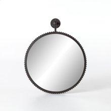 Aged Bronze Finish Cru Large Mirror