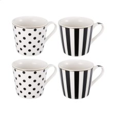 S/4 Tahiry Bold Coffee Cups