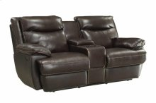 Power Loveseat W/ Console