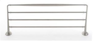 Charlie's Collection Towel Rack A6726-24 - Satin Nickel