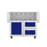 """Hestan36"""" Hestan Outdoor Tower Cart with Door/Drawer Combo - GCR Series - Prince"""
