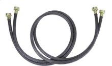 Washer Hose - 10' Black Rubber (2 Pack)