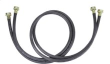 Washer Hose - 10' Black Rubber (2 Pack)