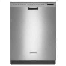 KitchenAid® 24'' 6-Cycle/6-Option Dishwasher, Pocket Handle - Stainless Steel