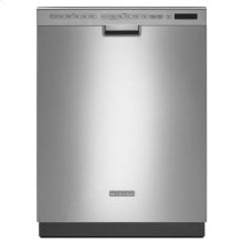 KitchenAid® 24'' 6-Cycle/6-Option Dishwasher, Pocket Handle - Stainless Steel