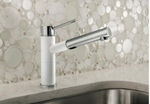 Blanco Alta Compact Pull-out Dual - Truffle