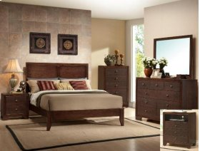 Siliva King Headboard/footboard