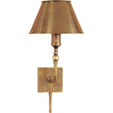 Visual Comfort S2650HAB-HAB Studio Swivel Head 10 inch 60 watt Hand-Rubbed Antique Brass Task Wall Light