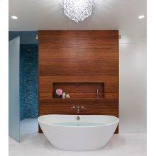 Elise  72-inch Award-Winning Freestanding Bath Tub