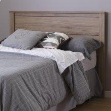 Headboard - Modern Style - Rustic Oak