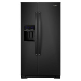 Whirlpool® 36-inch Wide Counter Depth Side-by-Side Refrigerator - 21 cu. ft. - Black