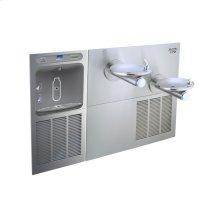 Elkay EZH2O Bottle Filling Station & SwirlFlo Bi-Level Fountain, High Efficiency Filtered 8 GPH Stainless