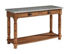 Bench Bobbin Console Table