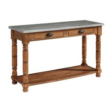 Bench Bobbin Console Table