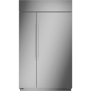 """MonogramMonogram 48"""" Built-In Side-by-Side Refrigerator - AVAILABLE EARLY 2020"""