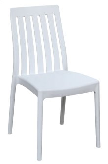 Dining Chair - Wht (2/ctn)