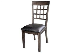 Grid Back Chair