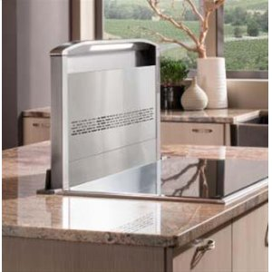 "BestCattura Downdraft Ventilator - 48"" Stainless Steel"