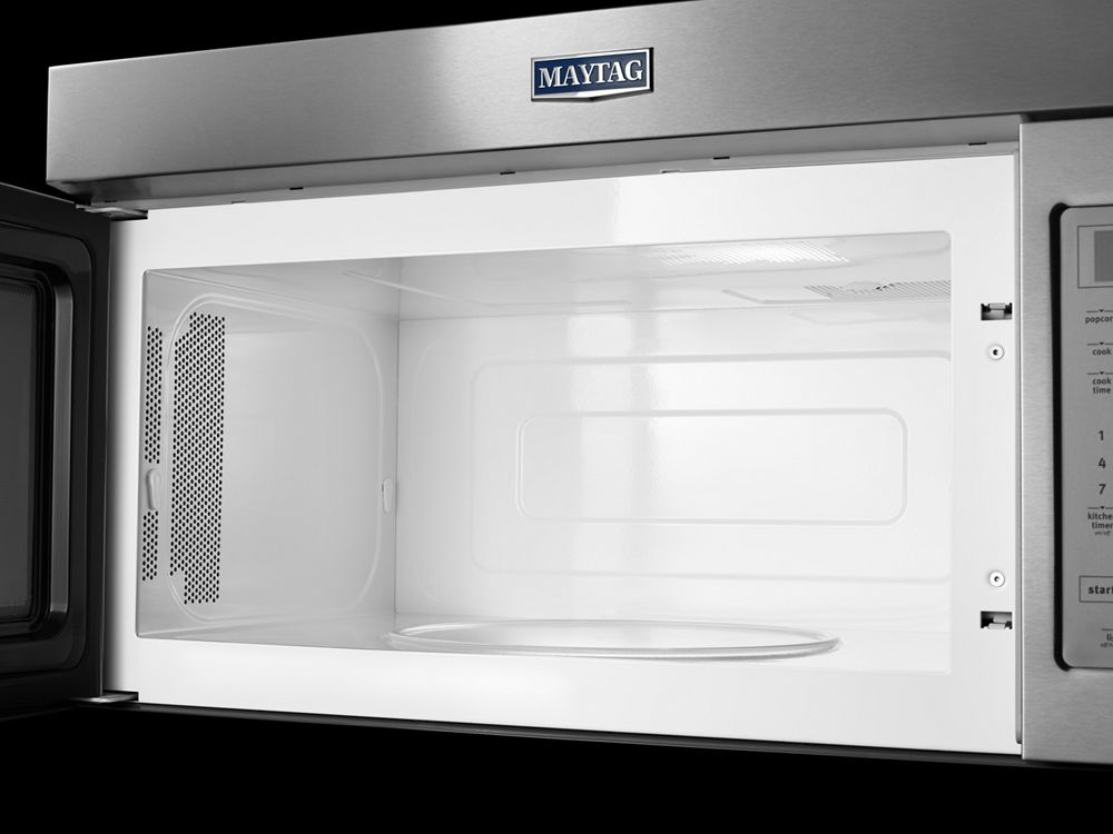 MAYTAG Compact Over The Range Microwave   1.7 Cu. Ft.