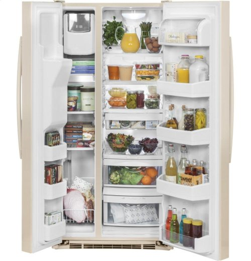 GE® ENERGY STAR® 23.2 Cu. Ft. Side-By-Side Refrigerator