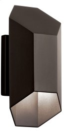 Estella 1 Light LED Wall Light Textured Architectural Bronze Product Image