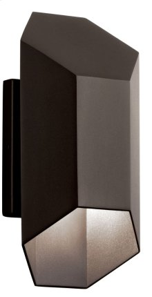 Estella 1 Light LED Wall Light Textured Architectural Bronze