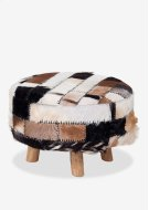 (LS) Patch Work Ottoman-Large Product Image