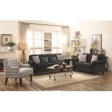 Gideon Graphite Two-piece Living Room Set