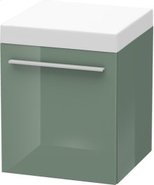 Mobile Storage Unit, Jade High Gloss Lacquer