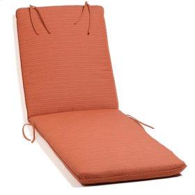 Chaise Cushion - Dupione Papaya