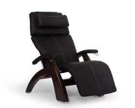 Perfect Chair PC-420 Classic Manual Plus - Black SofHyde - Dark Walnut
