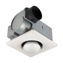 One-Bulb Heater/Fan, 250W Bulb, 70 CFM; Ventilation Fans