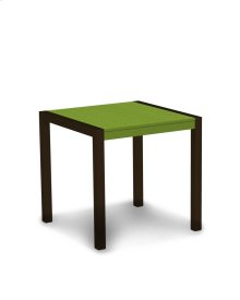 """Textured Bronze & Lime MOD 30"""" Dining Table"""