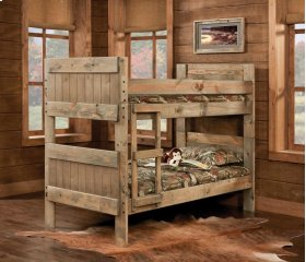 Twin/Twin Bed - 511-3PC Twin/Twin Bunkbed