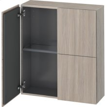 Semi-tall Cabinet, Pine Silver (decor)