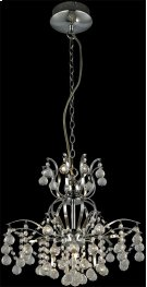 Chandeliers, Chrome/crystals, Type Jc/g4 20wx9 Product Image