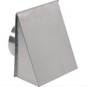 "8"" Round, Fresh Air Inlet Wall Cap, Aluminum"