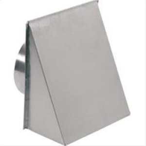 "Best8"" Round, Fresh Air Inlet Wall Cap, Aluminum"