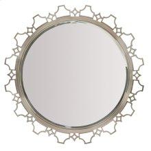 Domaine Blanc Round Mirror