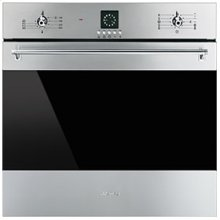 "60CM (approx. 24"") ""Classic"" Electric Multifunction Oven Stainless Steel and Smart-Black GLass"