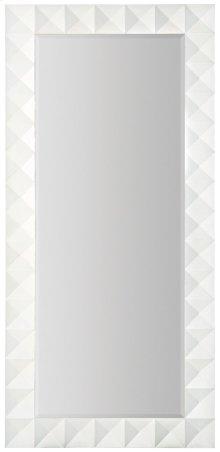 Axiom Floor Mirror in Linear White (381)
