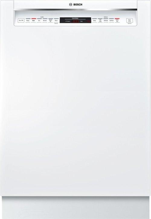 800 Rec Hndl, 6/5 cycles, 42 dBA, Flex 3rd Rck, UR glide, Touch Cntrls - WH