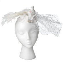 Dove Hat with Tulle.