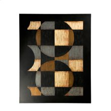 Circles & Squares Wall Art