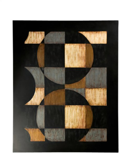 Circles & Squares Wall Art