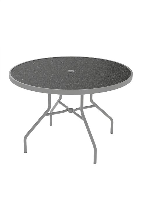 "Raduno 42"" Round HPL Umbrella Dining Table"
